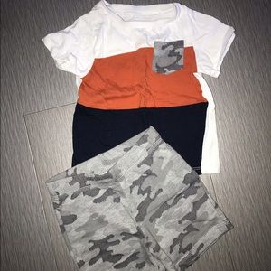 ‼️SALE‼️ first impressions Baby Matching Short Set